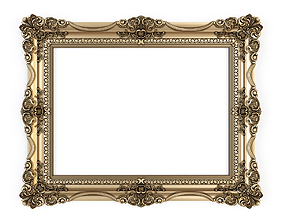 mirror frame for cnc 3D