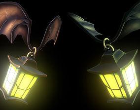 3D model Flying flashlight