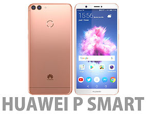 Huawei P smart Rose Gold 3D