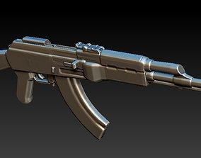 AK-47 3D print model