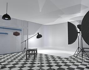 Photo studio - interior and props 3D model