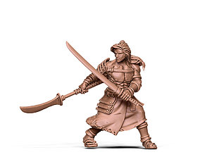 fantasy Ronin 3D print model - 35 mm scale