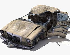 Destroyed Car 3D model