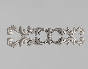 Horizontal decor 3D printable model corbel