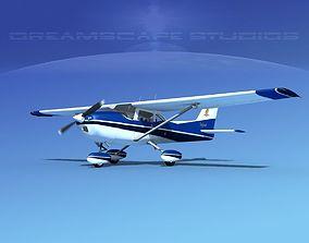 3D Cessna 172 Skyhawk 1976 V12