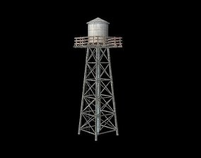 tower 3D model realtime Water Tower
