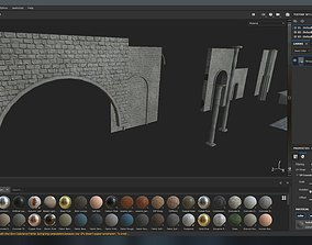 Medieval dungeon mobile pack 3D model