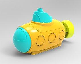 3D Toy submarine
