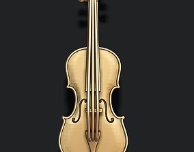 3D printable model Violin pendant