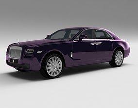 luxurance Rolls Royce Ghost 3D model