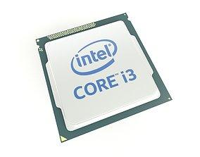 Intel CPU i3 v1 001 3D asset