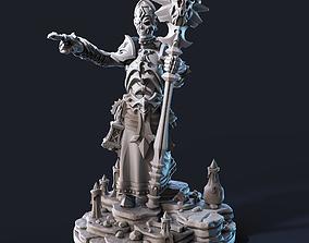 Warlock STL 75 mm 3D print model