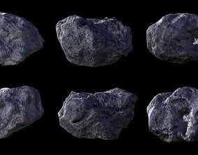 Asteroid pack 2 3D model