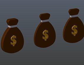3D model Symbols of money