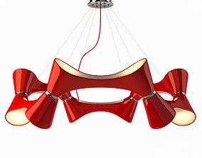3D model Chandelier Mantra 1563 Ora Rojo