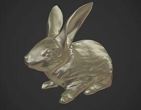 3D Rabbit Sculpt
