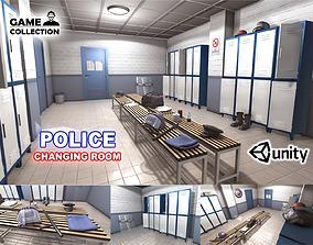 Police Changing Room 3D model