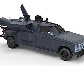 Diecast model Buckaroo Bonzai Jet Truck Scale 1 to