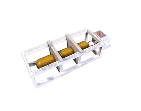 small pump 3D asset