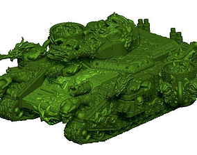 PlagueLord Tank Vessel of 3D printable model