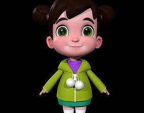 character 3D Cartoon Girl
