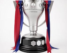 3D model Spain La Liga Trophy