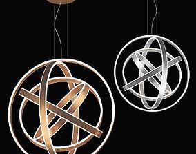 7472xx Saturno Lightstar Pendant chandelier 3D