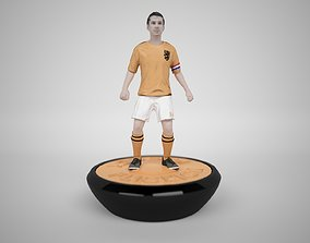 3D asset Subbuteo Table Soccer Player