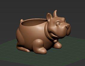 house Pot-Bulldog 3D print model