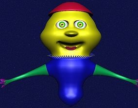 Alien on Mars 3D model