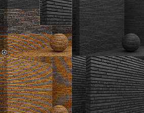 3D Material seamless - Bricks - Tiles