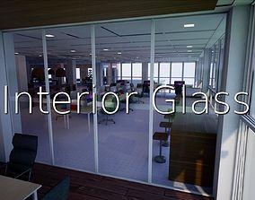 3D model Interior Glass SHC Quick Office LM