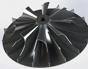 3D model Impeller part