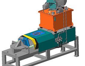 3D model Hydraulic press