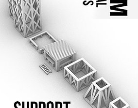 3D print model Support Structure Pack