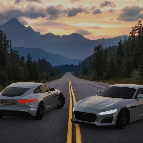 Jaguar F-Type Coupe 2020