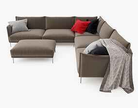 3D Moroso Gentry Sectional Sofa