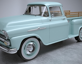 3D model Chevrolet Apache 1958