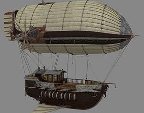 3D model Cargo Airship