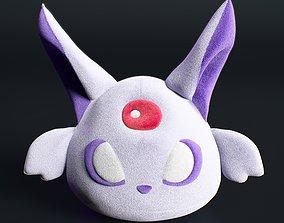 soft 3D model espeon pokemon kids