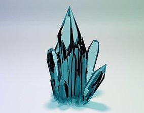 3D model kristal