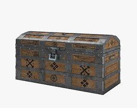 Medieval Chest 3D asset realtime