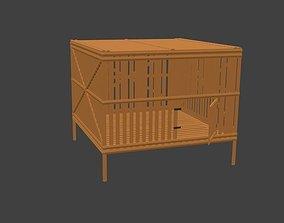 3D model Chicken Cage