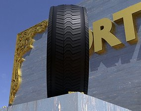 ORTAS TIRE NO 16 GAME READY AND 3D PRINTABLE
