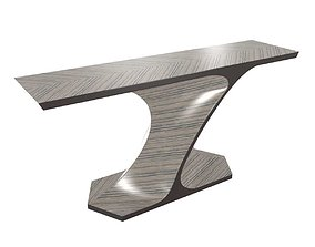 art of interiors entry console table 3D model