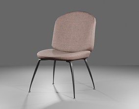 low-poly chair 3d