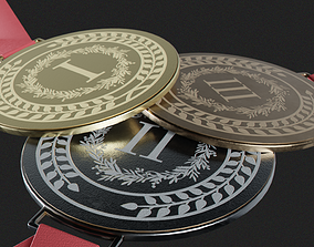 Universal medals for any event 3D model