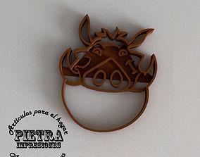 3D printable model PUMBA MOLDE CORTANTE PARA GALLETAS 3