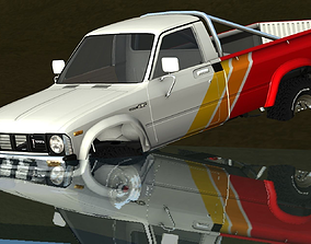 1979-1983 Toyota Hilux 4x4 3D model