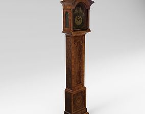 3D Baroque long case clock - England - London architectural